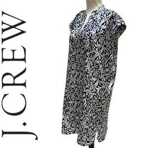 J. Crew shirt dress size M
